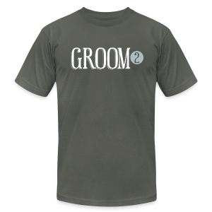 Groom 2 - Men's T-Shirt by American Apparel