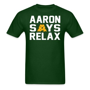 Aaron Says Relax - Men's T-Shirt