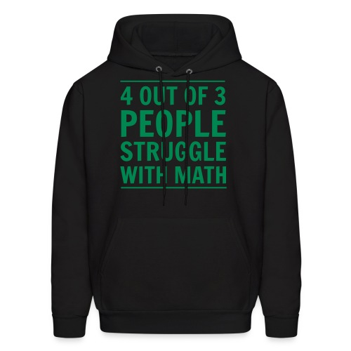 Men's Hoodie - sweatshirt,math,interesting,ha,funny,cool,cheap