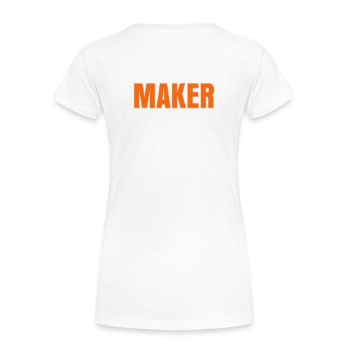 MAKE. DO./MAKER  TEE - Women's Premium T-Shirt