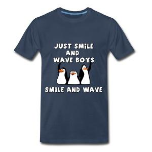 Smile and Wave - Men's Premium T-Shirt