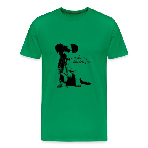 Set them puppies free Tee - Men's Premium T-Shirt