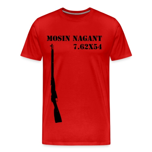 Mosin Nagant Rifle - Men's Premium T-Shirt
