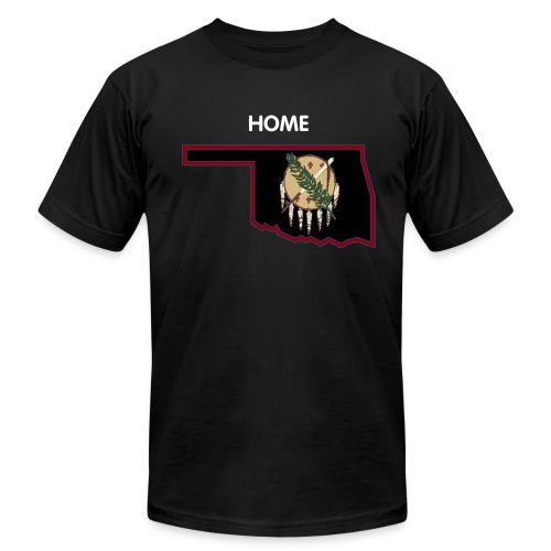 Oklahoma Home Short Sleeve T-Shirt - Men's Fine Jersey T-Shirt