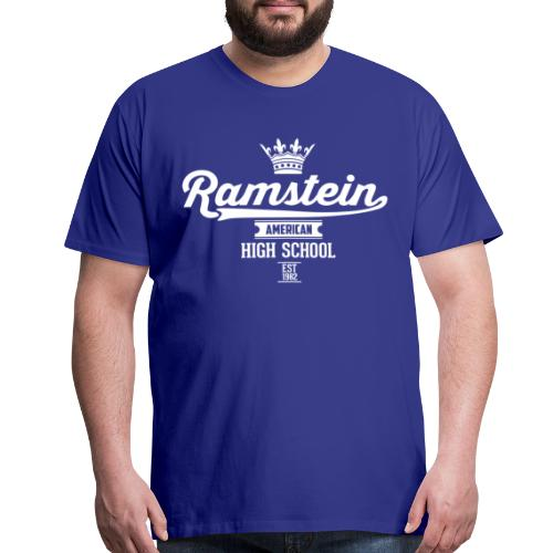 Ramstein Est Retro Tee - Royal - Men's Premium T-Shirt