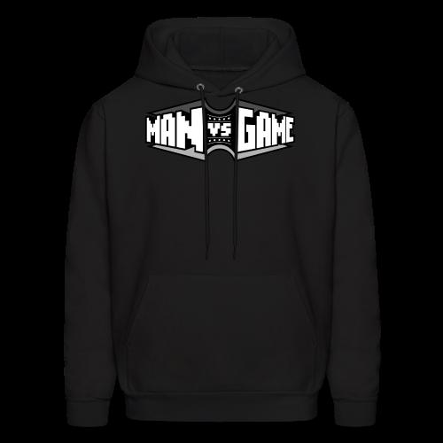Men's Double Logo Hoodie - Men's Hoodie