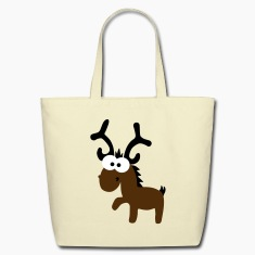 reindeer Bags & backpacks