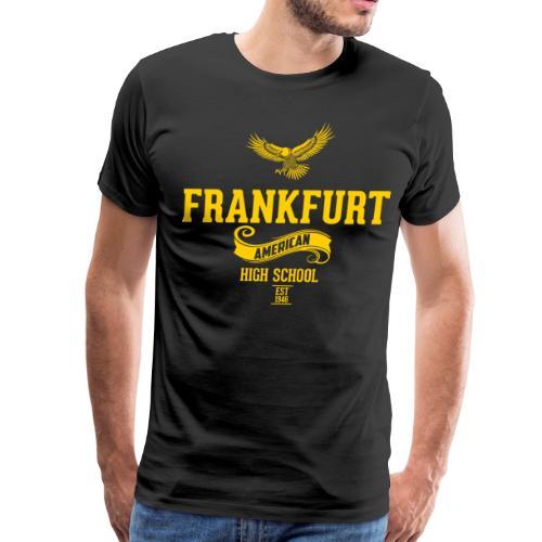 Frankfurt Est Retro Tee - Black - Men's Premium T-Shirt