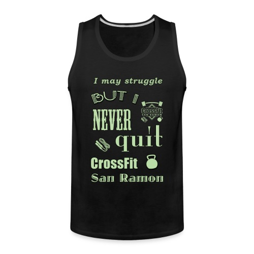 Men's Tank I may struggle - Men's Premium Tank