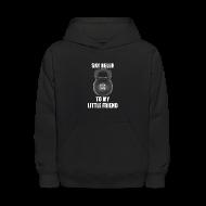 Sweatshirts ~ Kids' Hoodie ~ Kid's hooded kettle bell