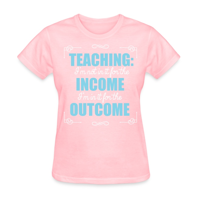 Outcome, Not Income