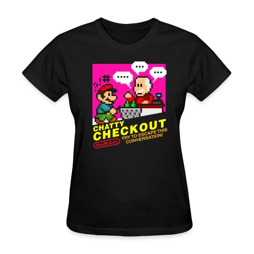 [chattycheckout] - Women's T-Shirt