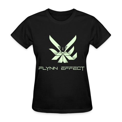 Glow in the Dark Women's Logo Tee - Women's T-Shirt