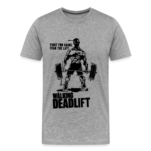 Zombie Walking Deadlift | Mens tee - Men's Premium T-Shirt