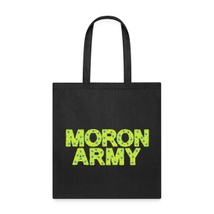 MORON ARMY - Smiles and paws (tote) - Tote Bag