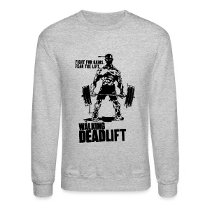 Zombie Walking Deadlift | Mens jumper - Crewneck Sweatshirt