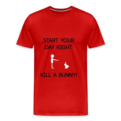 SYDR kill a bunny - Men's Premium T-Shirt