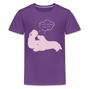Kids' Premium T-Shirt - Proceeds from shirt sales will benefit dogs at rescue facilities by providing collars, leashes, toys and treats to adoptable dog foster families and dogs housed in kennels.  Facilities/Groups who will receive donations include Washington Humane Society, Ruth Steinert SPCA, City Dogs Rescue, Greenbelt Animal Shelter and others.