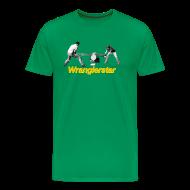 T-Shirts ~ Men's Premium T-Shirt ~ Cross Cut Saw Jack and Jill