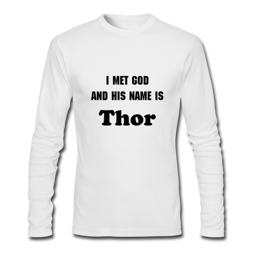 Thor - Men's Long Sleeve T-Shirt by Next Level
