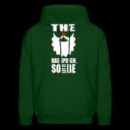 Hoodies ~ Men's Hoodie ~ The Beard Has Spoken