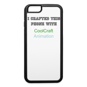 CoolCraft Iphone case Boys - iPhone 6/6s Rubber Case