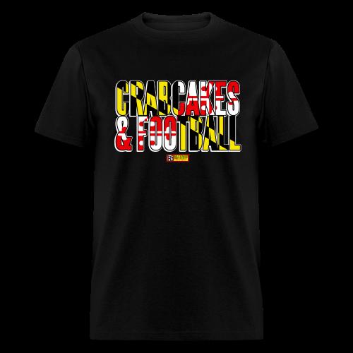 BSHU - Crabcakes & Football - Men's T-Shirt
