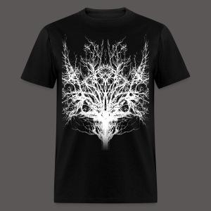 SAVAGE TREE WHITE - Men's T-Shirt