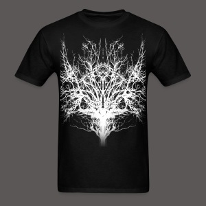 SAVAGE TREE WHITE - Men's T-Shirt