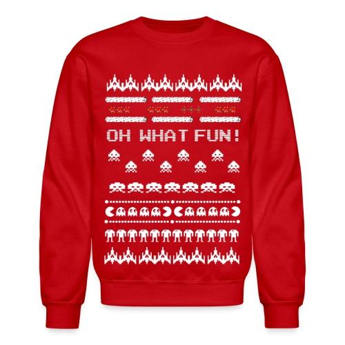 Arcade Ugly Christmas Sweater - Crewneck Sweatshirt