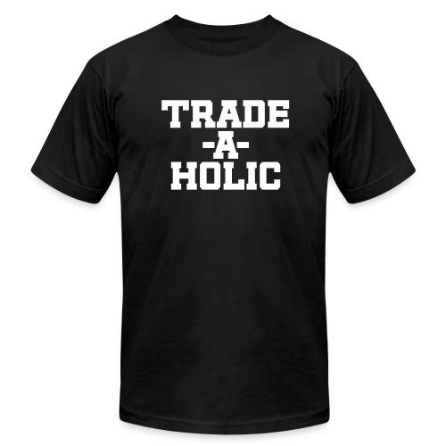 Trade-a-Holic - Men's  Jersey T-Shirt