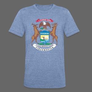 Michigan Flag - Unisex Tri-Blend T-Shirt