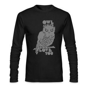 Owl Always Love You - Men's Long Sleeve T-Shirt by Next Level