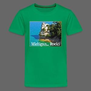 Michigan Rocks - Kids' Premium T-Shirt