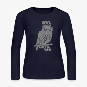 Owl Always Love You - Women's Long Sleeve Jersey T-Shirt