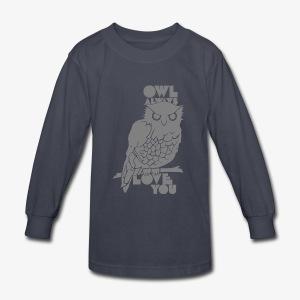 Owl Always Love You - Kids' Long Sleeve T-Shirt