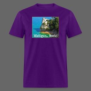 Michigan Rocks - Men's T-Shirt