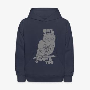 Owl Always Love You - Kids' Hoodie