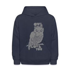 Owl Always Love You - Kids' Hoodie