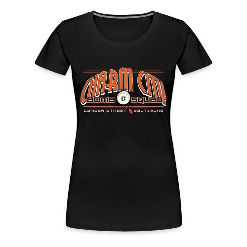 Fitted- Bomb Squad - Women's Premium T-Shirt