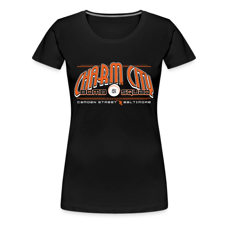Fitted- Bomb Squad - Women's Premium T-Shirt