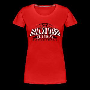 Fitted- Basketball - Women's Premium T-Shirt