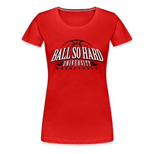 Fitted- Basketball - Women's Premium T-Shirt