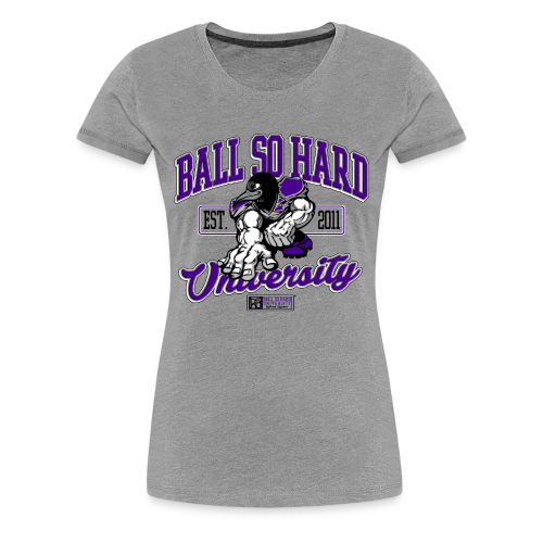 Fitted- Bird Man - Women's Premium T-Shirt