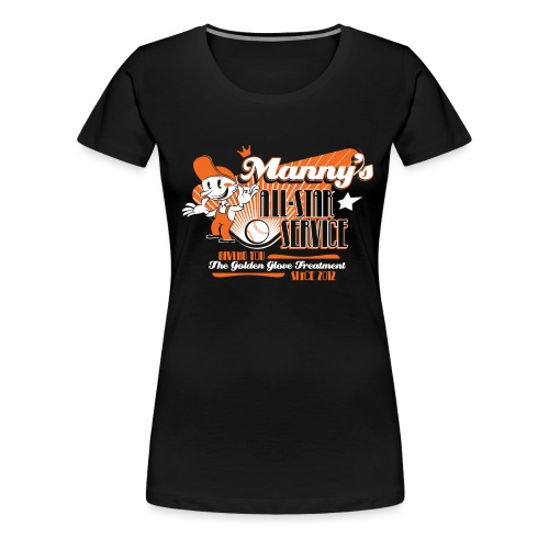 Fitted- Manny's - Women's Premium T-Shirt