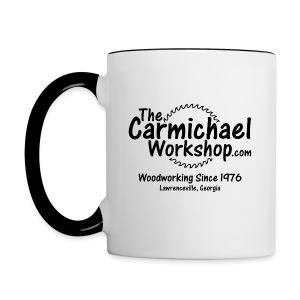Coffee Mug w/Accent Color - Contrast Coffee Mug