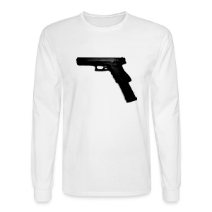 Pistol Longsleeve Tee - Men's Long Sleeve T-Shirt
