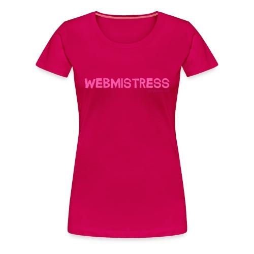 Webmistress - Women's Premium T-Shirt