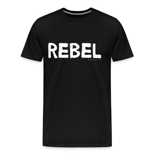 Rebel (Black) - Men's Premium T-Shirt