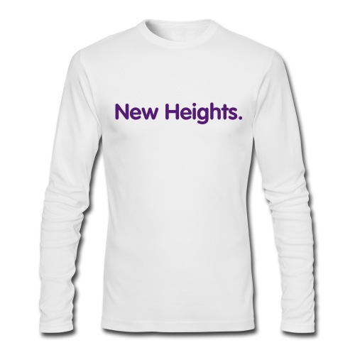 New Heights - Men's Long Sleeve T-Shirt by Next Level